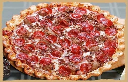 Picture of Meaty Extravaganza Pizza-Catering