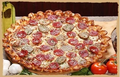 Picture of Meatball Pepperoni Parmesan Pizza-Catering