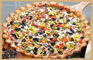 Picture of Veggie Pizza-Dawg Bone